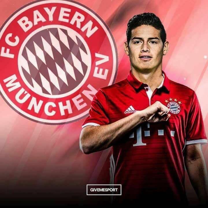 James Rodríguez es Nuevo Jugador del Bayern Munich