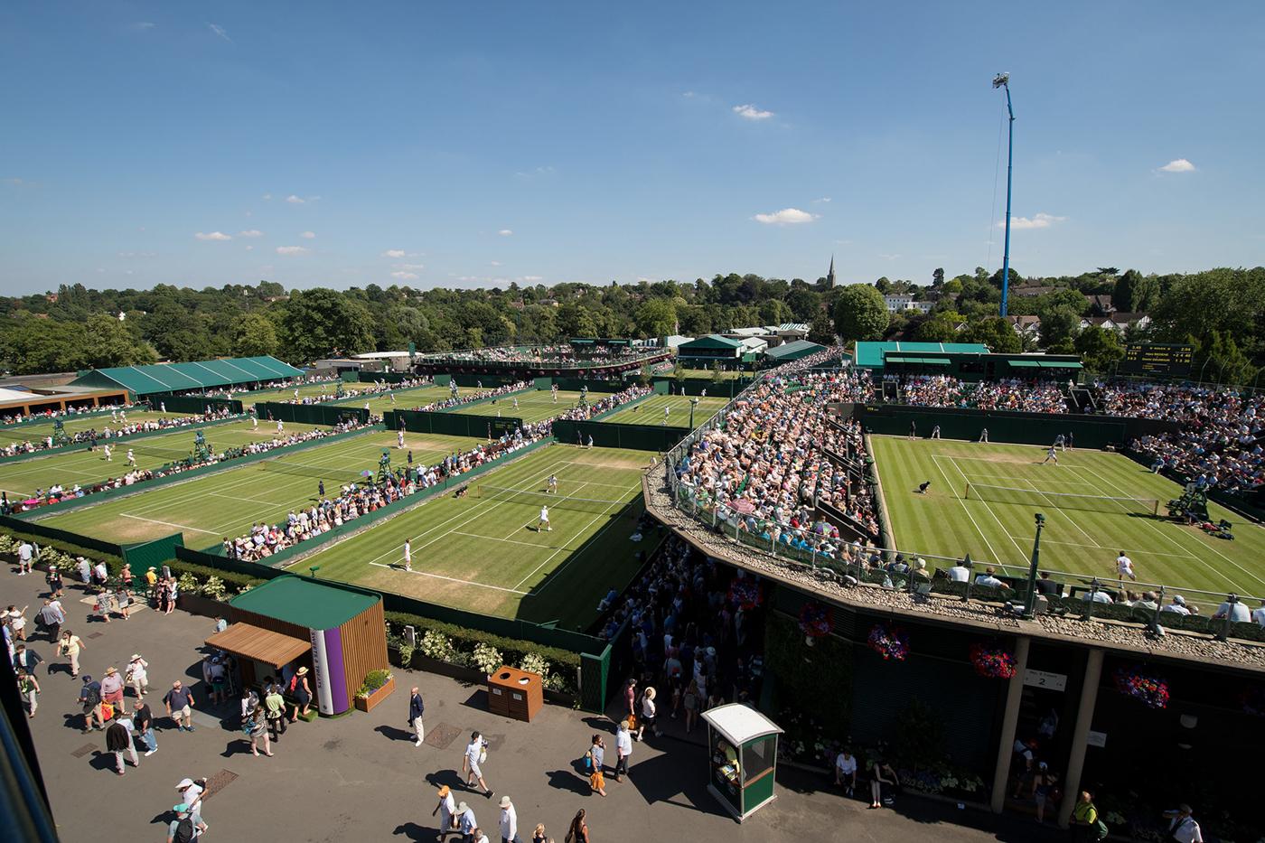 Tenis: Segunda ronda de Wimbledon
