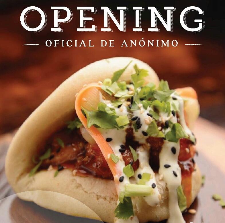 OPENING, Evento Oficial de «Anónimo Cocina»