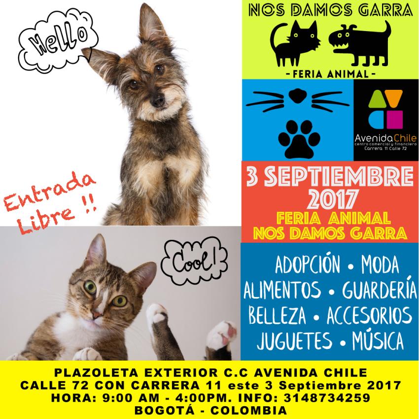 Feria animal: «Nos Damos Garra