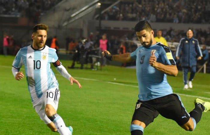 Uruguay y Argentina se fueron en Tablas del Centenario