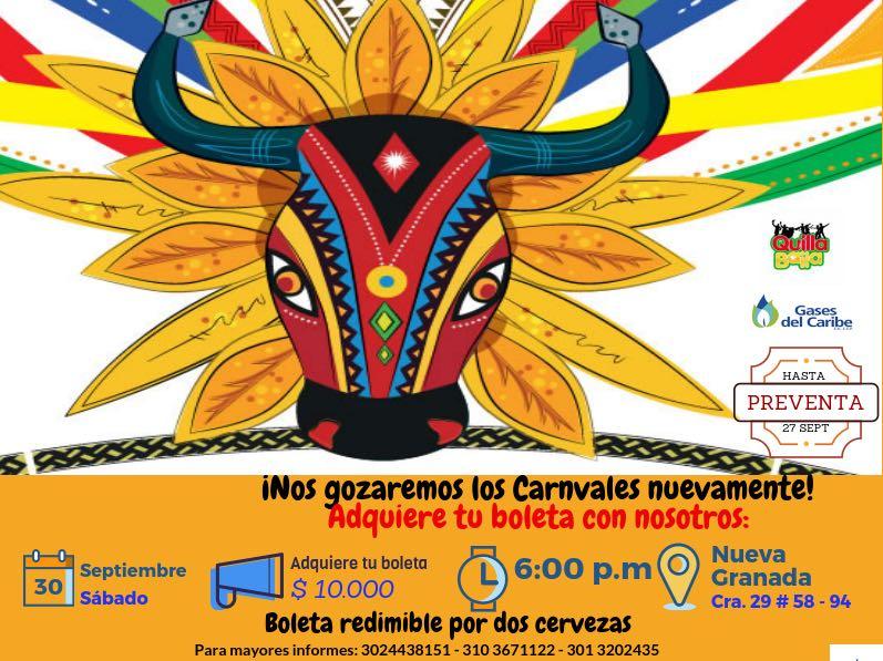 Quilla Baila presentará su 'Carnaval en Septiembre'