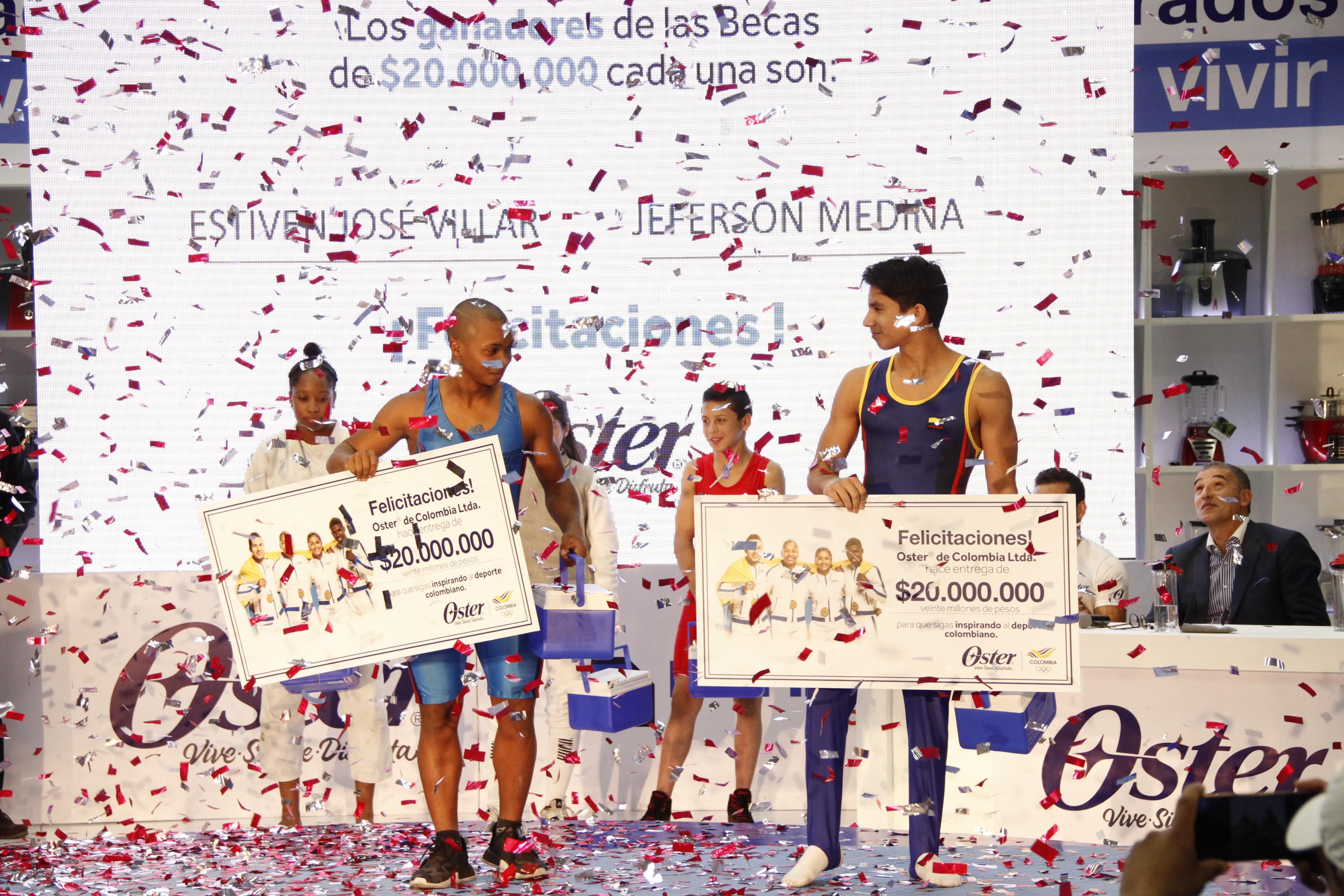 Medallistas Colombianos Comparten Con Jóvenes Promesas del Deporte