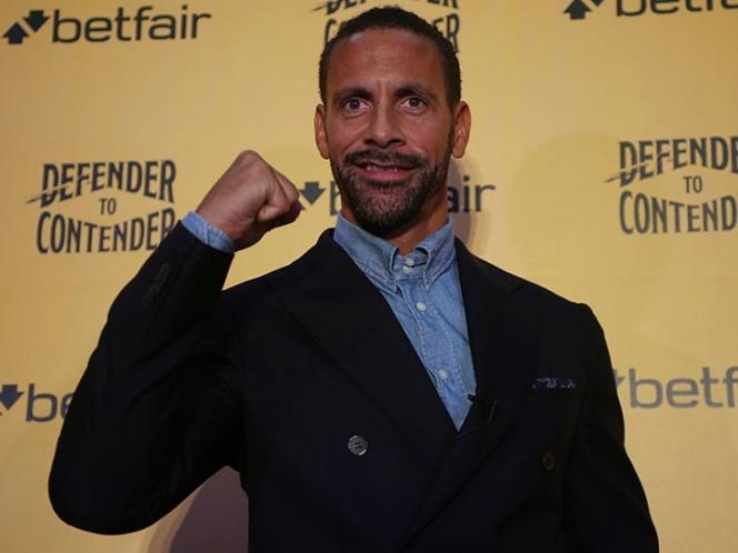 Exfutbolista Rio Ferdinand, será boxeador