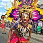 La comparsa Selva Africana, hizo parte del recorrido carnavalero.