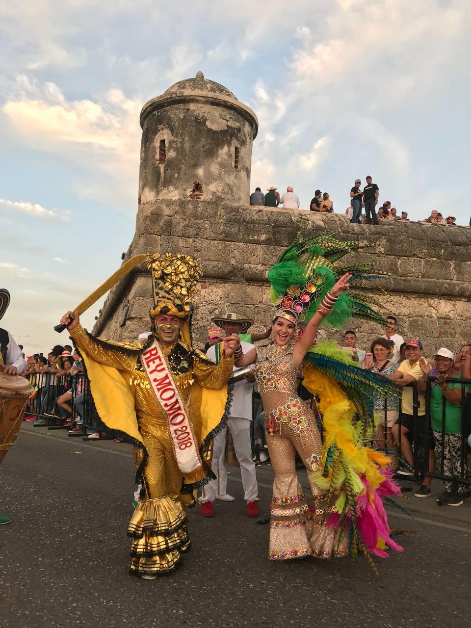 Valeria Abuchaibe y Ricardo Sierra fueron ovacionados por el público cartagenero (1)