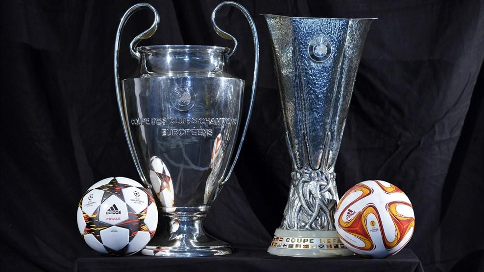 Listos los cruces de Champions y Europa League