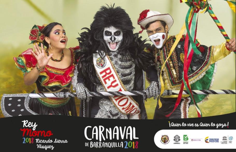 Rey Momo y los Reyes del Carnaval de los Niños, Presentan sus afiches oficiales