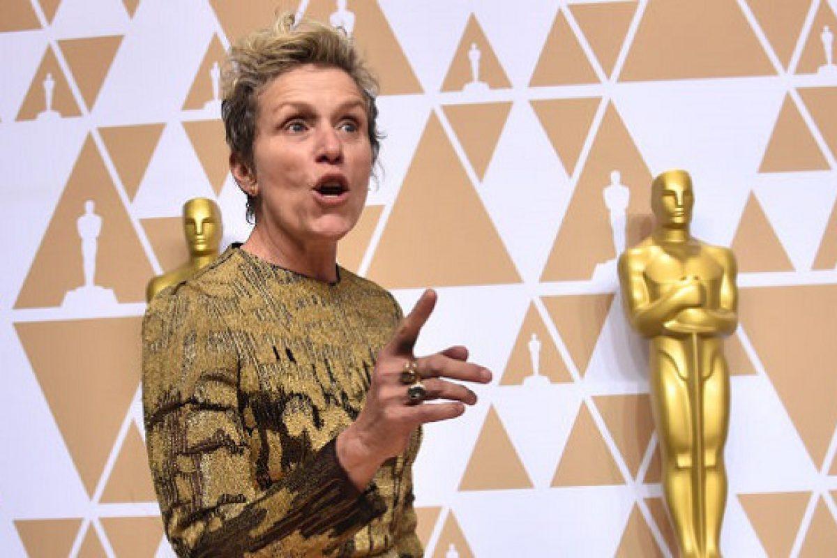 Recuperan la estatuilla del Óscar robada a McDormand