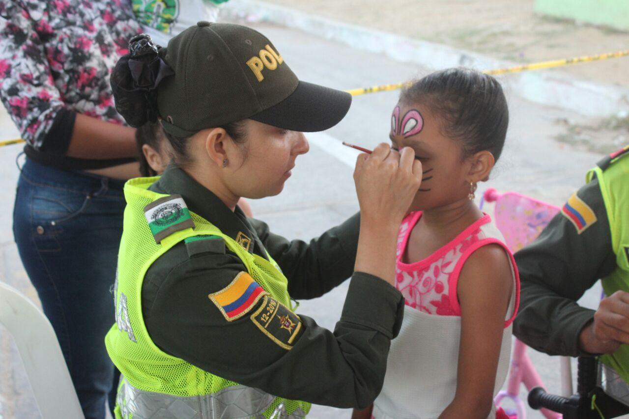 """Policía Nacional realiza jornada de """"Un Pacto Por La Vida"""""""