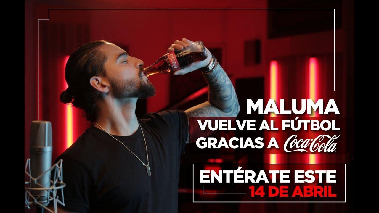 Coca-Cola presentó su himno oficial para el Mundial cantado por Maluma