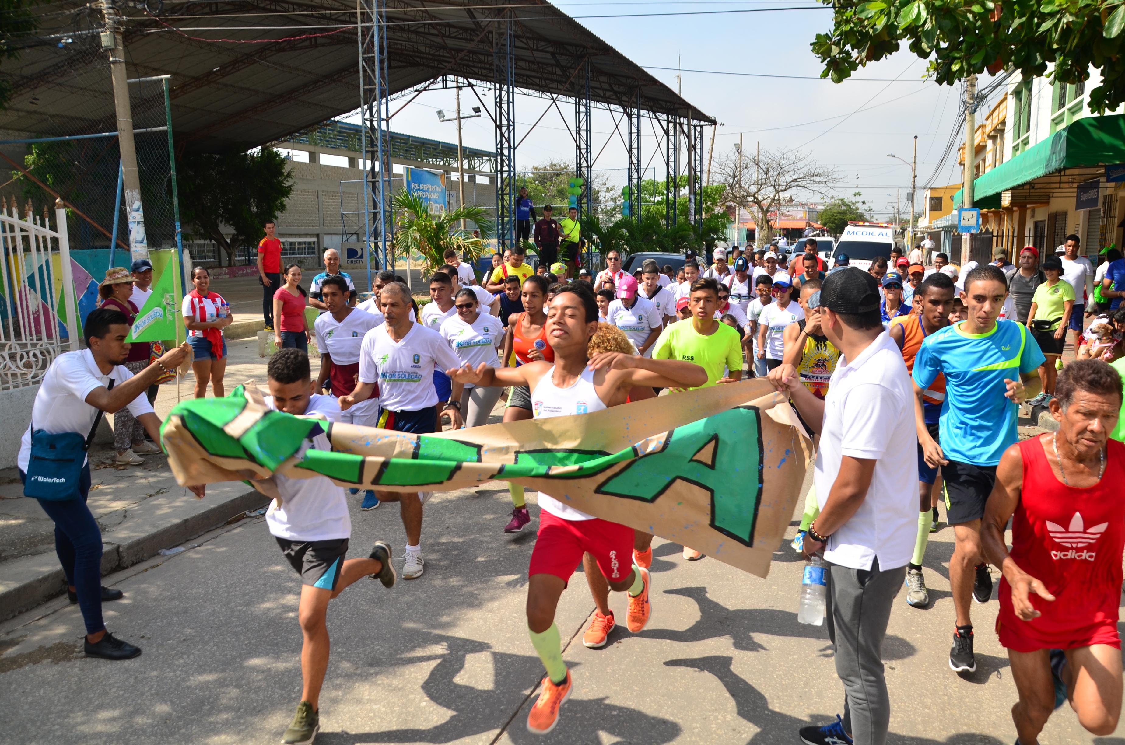 Soledeños celebraron el Día de la Tierra con carrera 3K