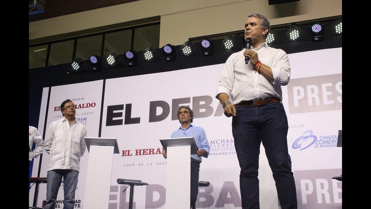Debate Presidencial 2018-2022 en la Ciudad de Barranquilla