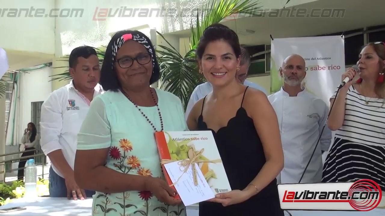 Lanzamiento del libro culinario 'Atlántico Sabe Rico'