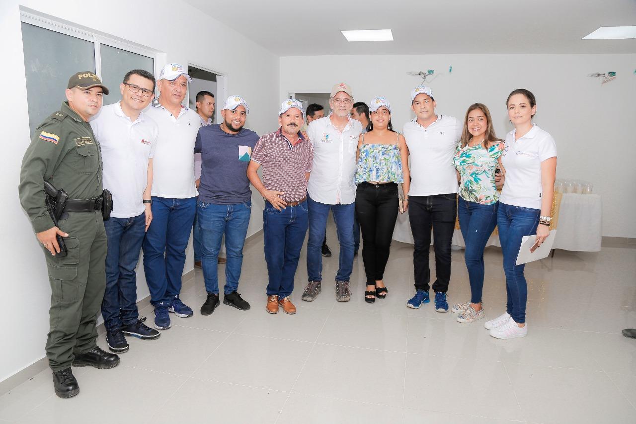Gobernación renueva área de consulta externa del Hospital de Sabanagrande