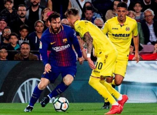 Barcelona goleó 5-1 al Villarreal