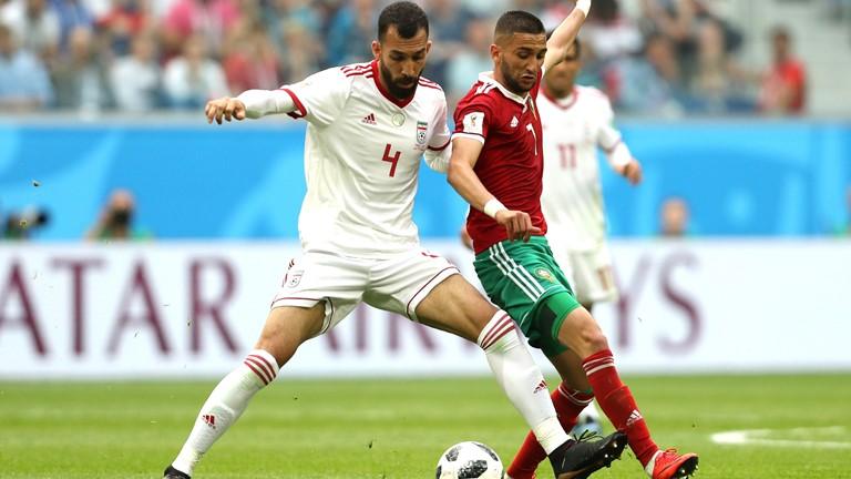 RUSIA 2018: Irán le ganó a Marruecos en el último minuto