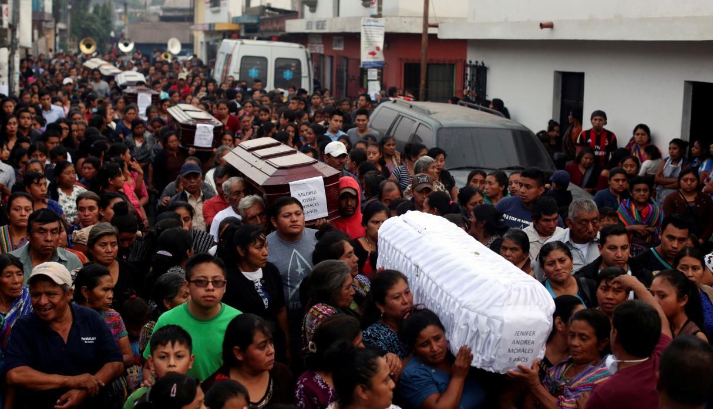 Erupción del Volcán de Fuego deja al menos 70 muertos en Guatemala