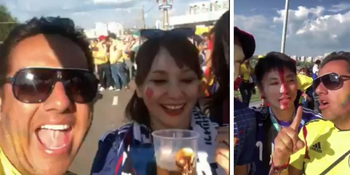 Hombre que ofendió a japonesas después del partido, pidió perdón