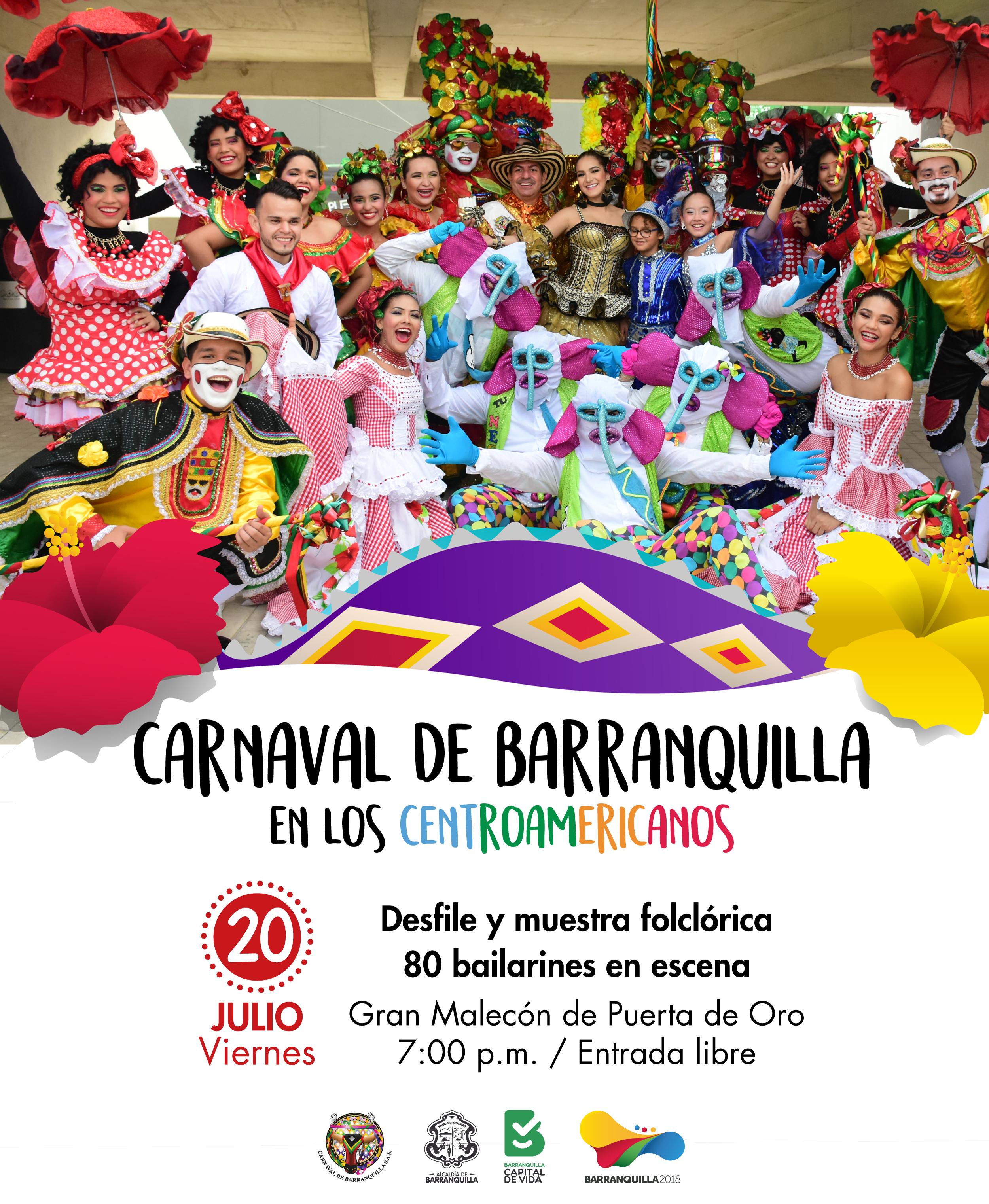Este 20 de julio, el Gran Malecón Puerta de Oro se viste de Carnaval