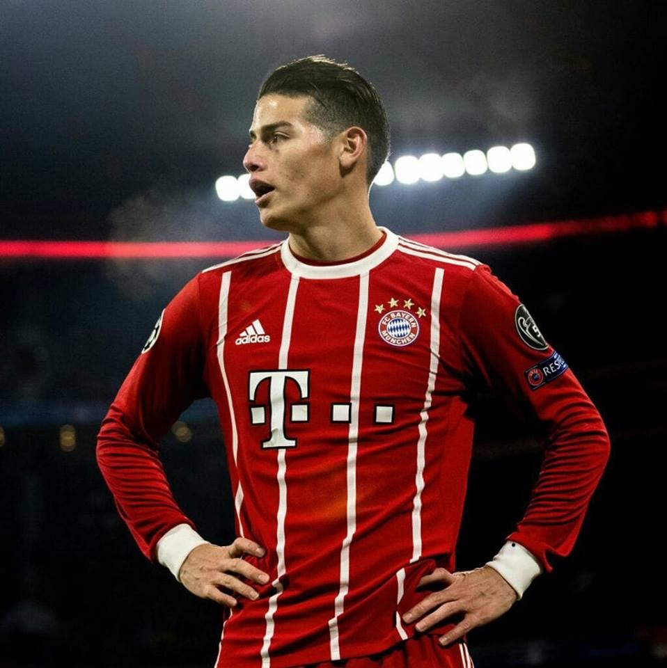 James se unirá a la expedición del Bayern Múnich en Estados Unidos