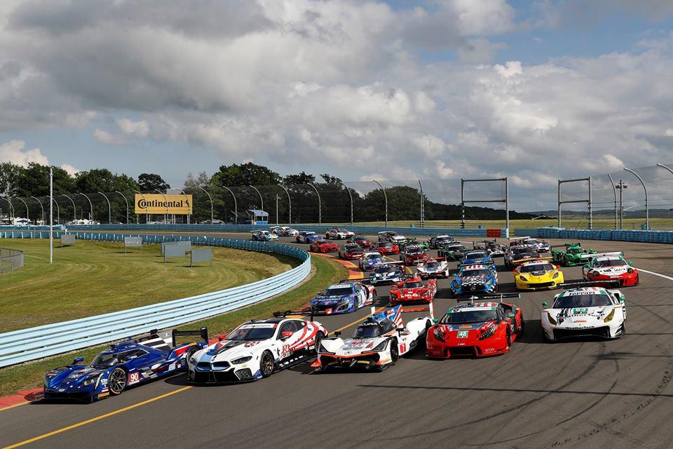 Los pilotos colombianos se toman Mosport