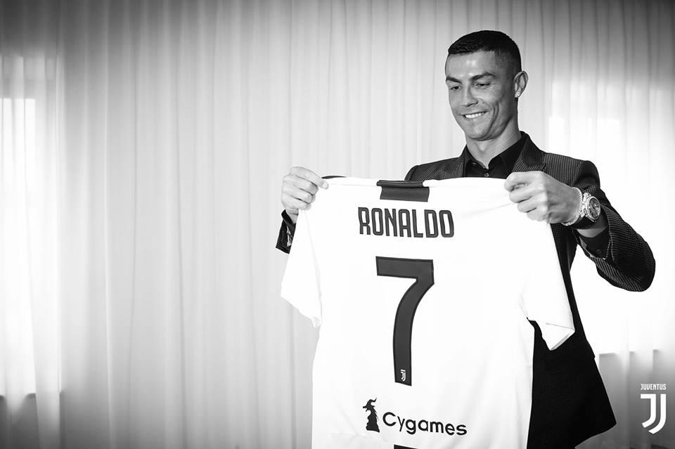Los primeros números de Cristiano Ronaldo con la Juventus