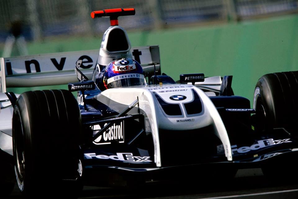 Un auto de Montoya participó en el Festival de la Velocidad de Goodwood
