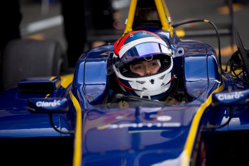 Tatiana Calderón consiguió el primer punto del año en la GP3