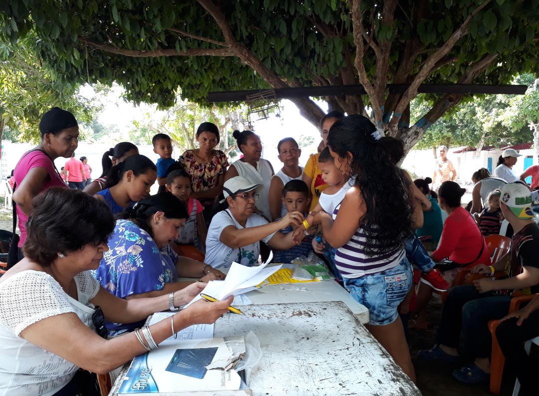 Primer Encuentro Intergeneracional de Brigadas de Salud en Baranoa