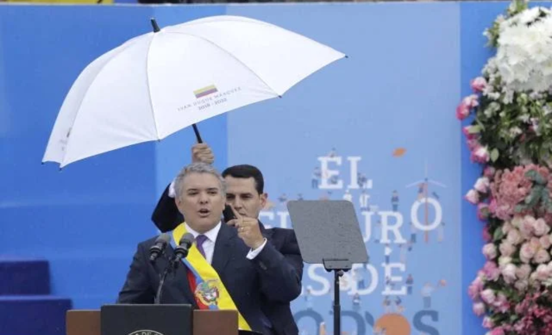 Discurso de posesión de Iván Duque como presidente de Colombia