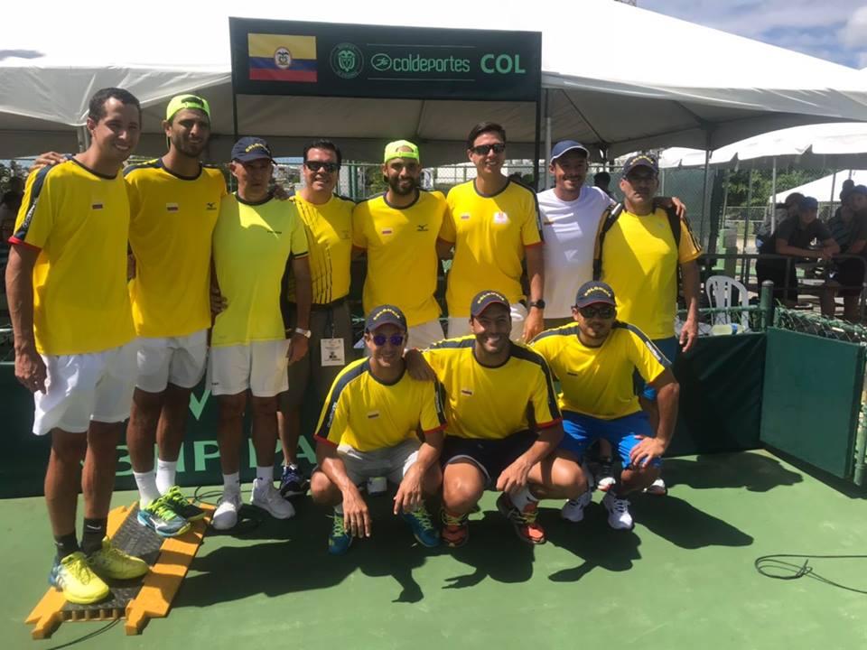 Tenis: Copa Davis: el cuarteto colombiano se alista para enfrentar a Argentina