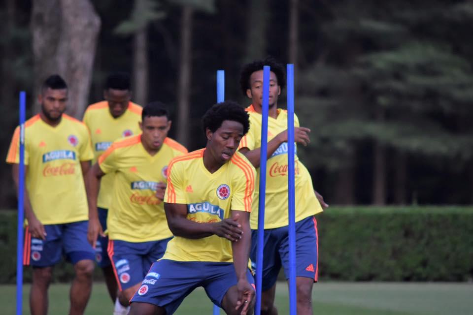 Los partidos de la selección colombiana para preparar la Copa América