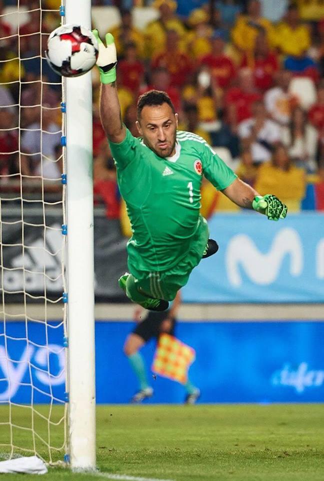 David Ospina, nuevo jugador del equipo Nápoles