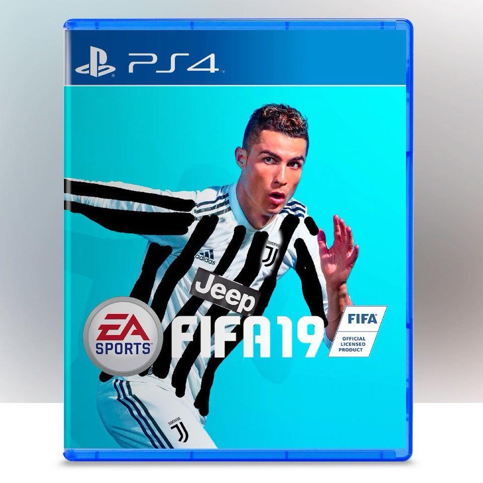 La nueva portada del FIFA 19: Cristiano Ronaldo con la camiseta de Juventus