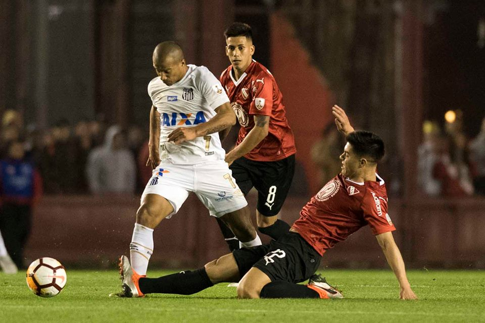 Copa Libertadores: Conmebol le entregó la victoria por 3-0 a Independiente sobre Santos