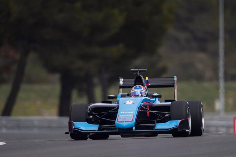 GP3: Tatiana Calderón consiguió otro resultado memorable en Spa-Francorchamps