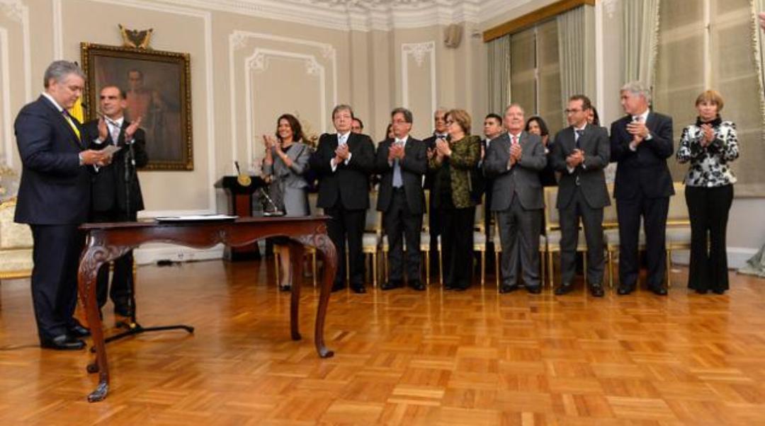 El presidente Ivan Duque posesiono en la Casa de Nariño su gabinete de gobierno