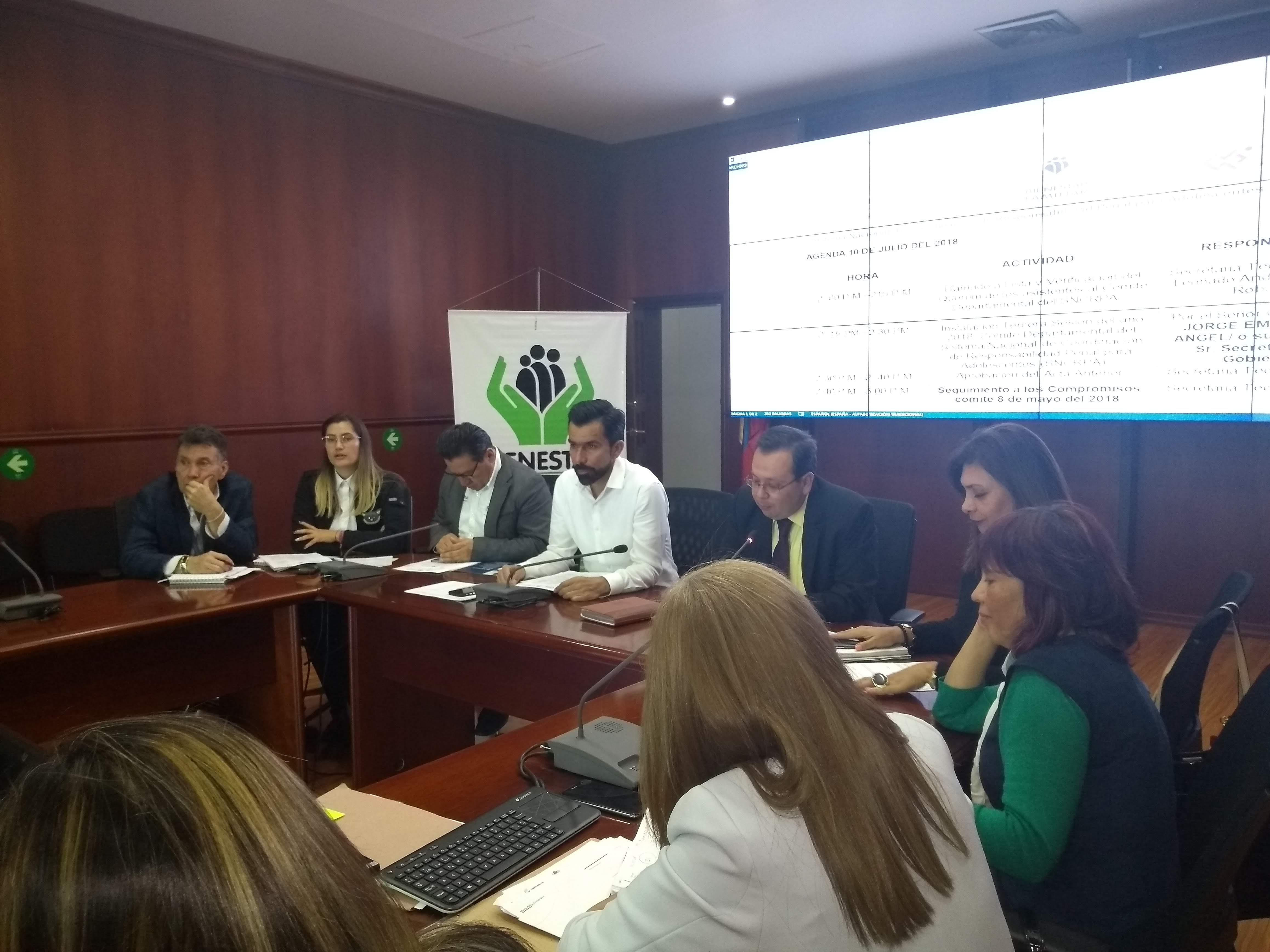 Centros Transitorios para adolescentes en Cundinamarca