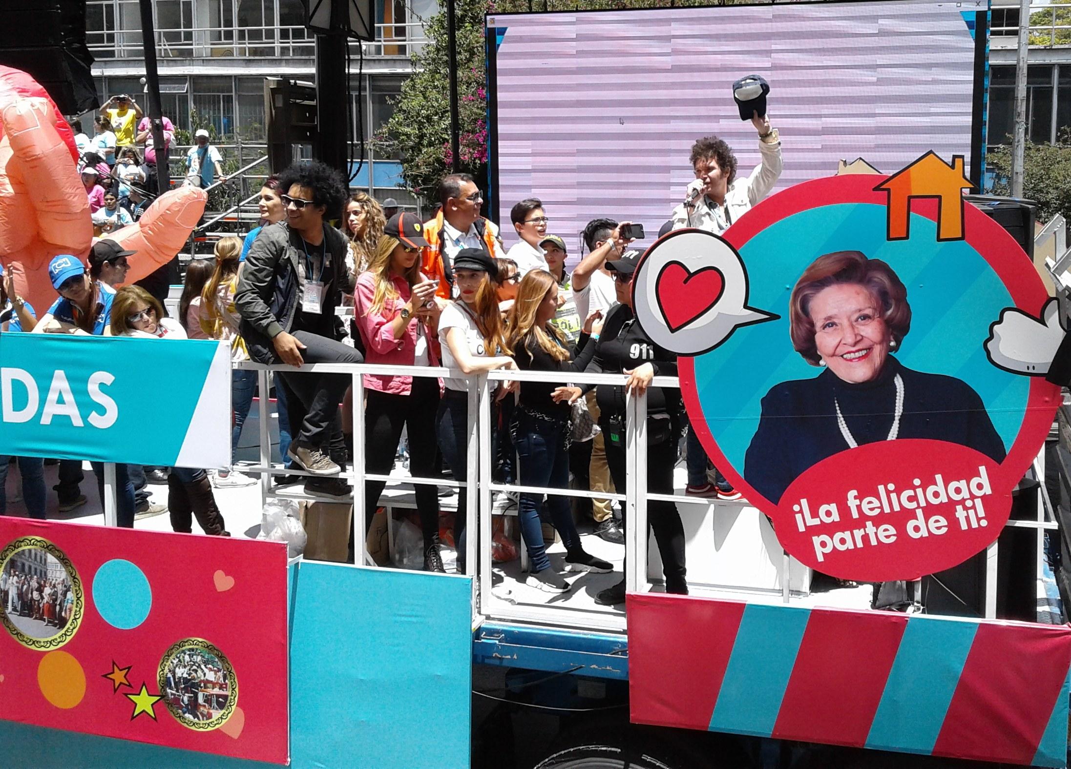 Gran Caminata por la Solidaridad Se Vivió En Bogotá