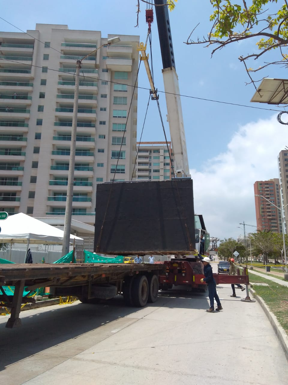 Electricaribe renueva equipos en el sector de Buenavista