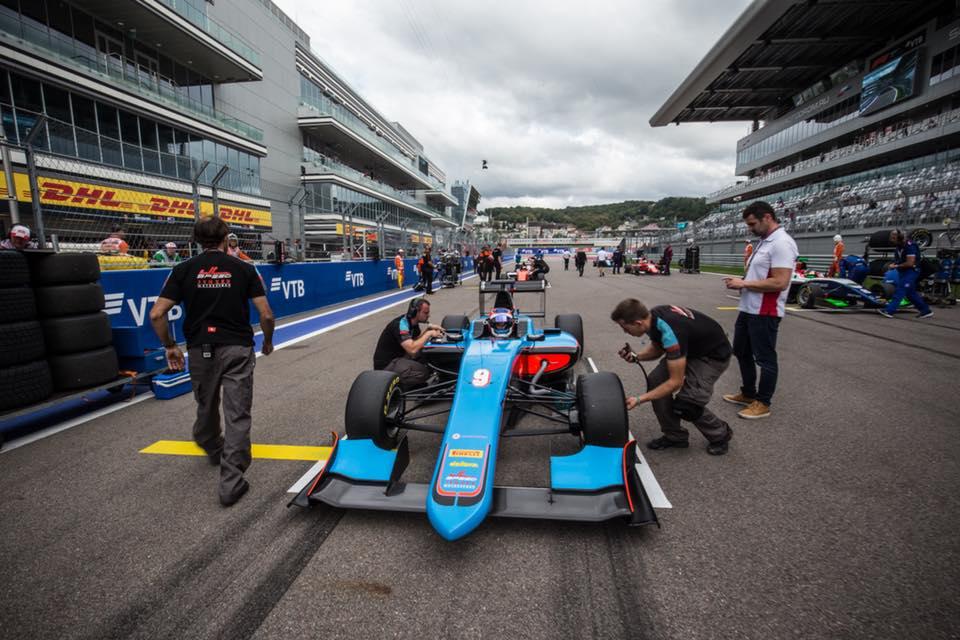 GP3 Series: Tatiana Calderón sumó de nuevo en Sochi