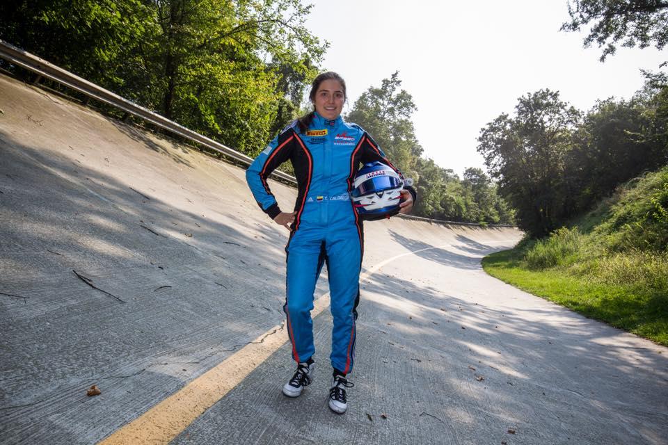 GP3 Series: Tatiana Calderón saldrá desde la posición 13
