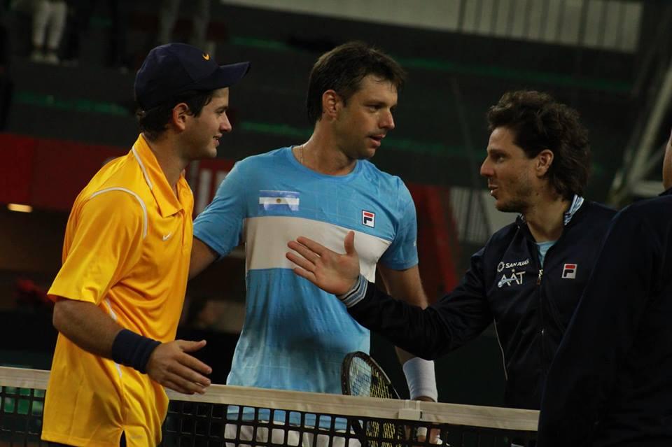 Tenis: Copa Davis: Zeballos y Mejía cumplieron con el protocolo