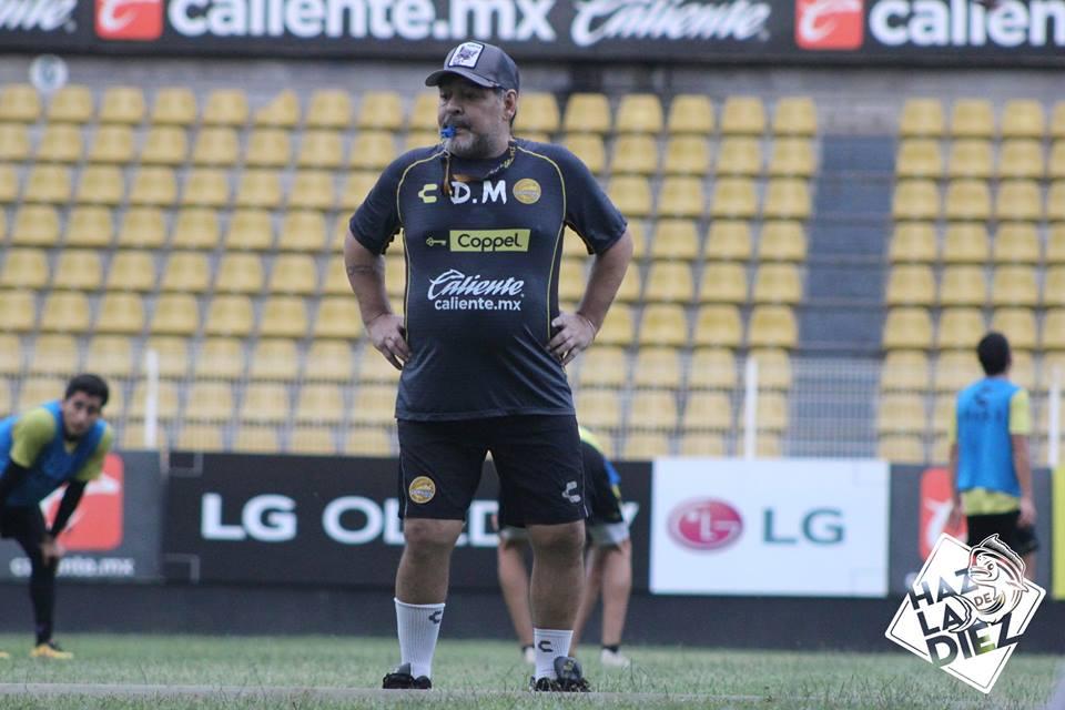 El sueldo que recibe Maradona en dorados de Sinaloa