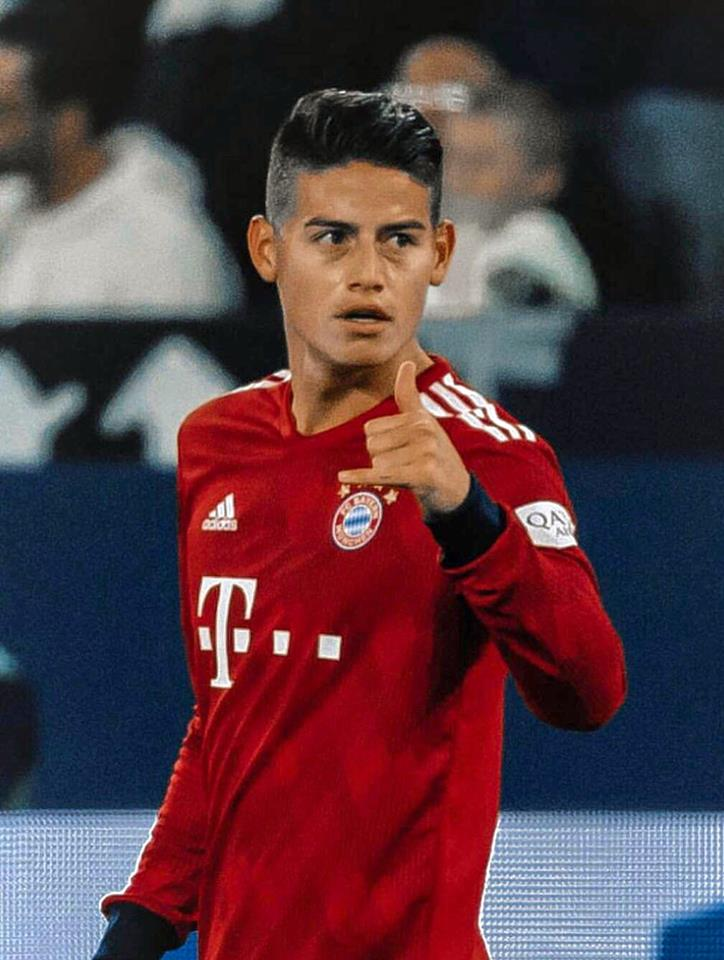 James Rodríguez, la figura del Bayern Múnich en el triunfo frente a Schalke 04