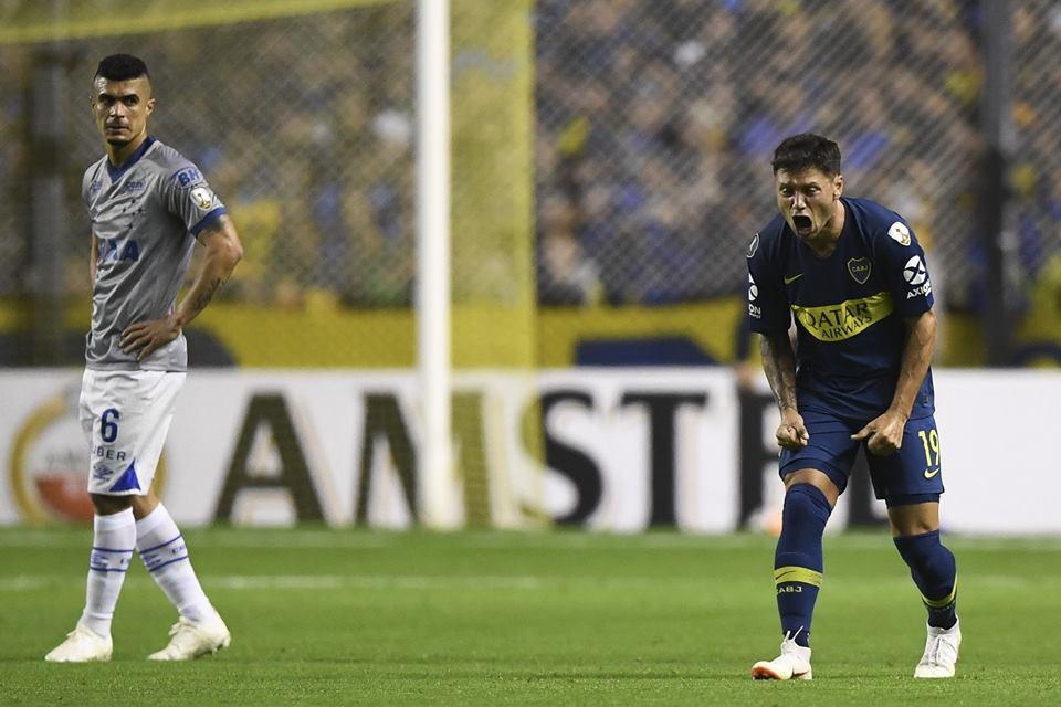 Copa Libertadores: Boca consiguió una ventaja de dos goles sobre Cruzeiro