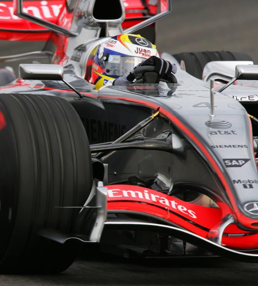 La última victoria de Montoya en Fórmula 1