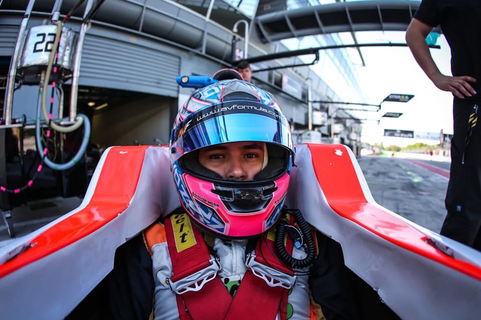 Fórmula Renault: Christian Muñoz finalizó un fin de semana muy adverso