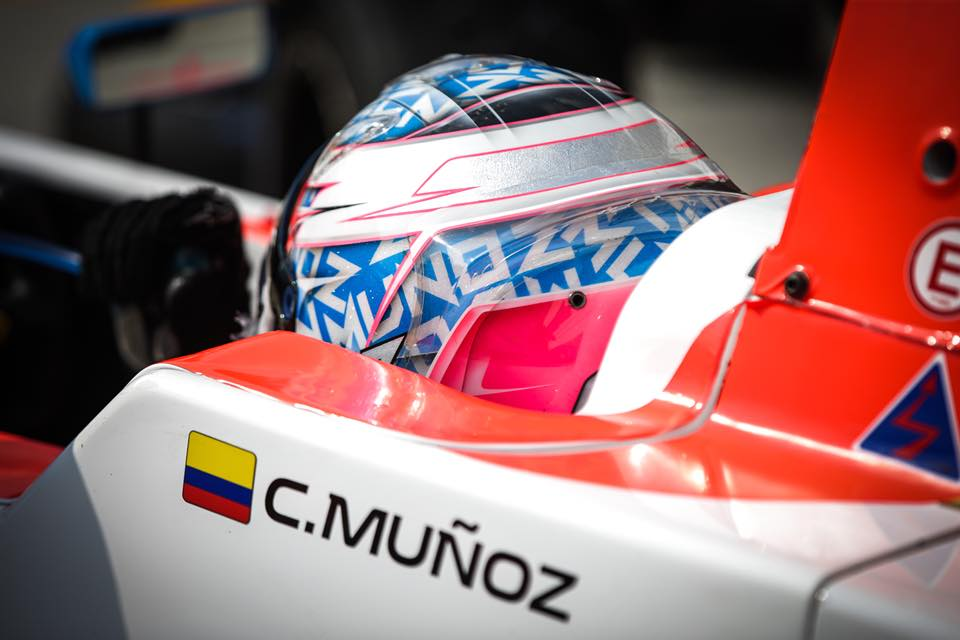 Fórmula Renault Eurocopa: Christian Muñoz finalizó 19 en la segunda carrera del Nürburgring